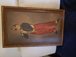 "Vintage copy "" The Fifer"" by Edouard Manet"