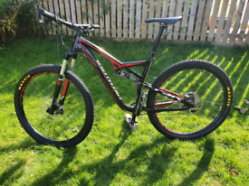 Specialized Camber Comp EVO, full sus bike, Large 29er