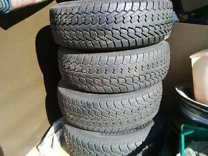 Snow tires Nexen 215  70  R15