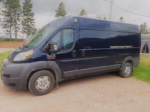 2015 Dodge Promaster Van High Roof Plus Thermo King Reefer