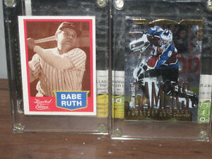 babe ruth card and roy card