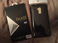 HTC one case and screen protector