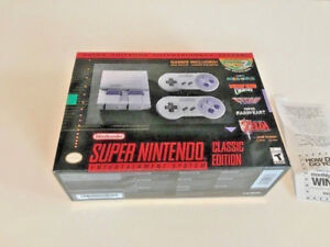 SNES CLASSIC. BRAND NEW FACTORY SEALED. W/ RECEIPT FROM WALMART