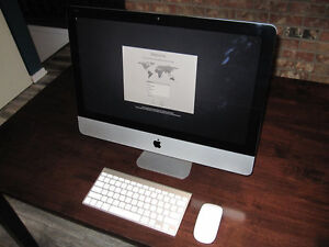 "21.5"" iMac Quad-core 2.7 GHz i5 8GB RAM 1TB HD"
