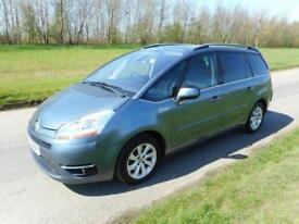 2010 Citroen Grand C4 Picasso Exclusive 2.0 Hdi Automatic ONLY 26K, FSH, 7 SEATS