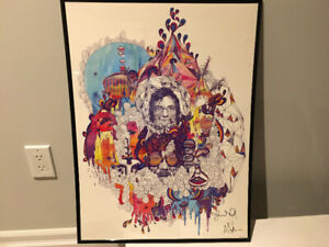 Portugal The Man: ITMITC Autographed Lithograph