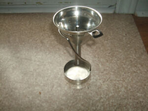 Wine areator, Swissmar decanting funnel, 6 hole stem with stand.