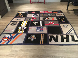 Courtepointe, couvre-lit NHL