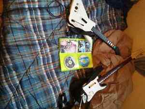 Guitar Hero 3 and Rock Band 2 + 1 Guitar of Each Game Edmonton Edmonton Area image 1
