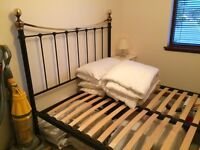 King size bedstead new condition 3 years old