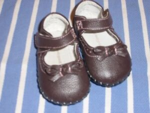 Pediped Isabella Chocolate Brown 0-6 months Baby Shoes