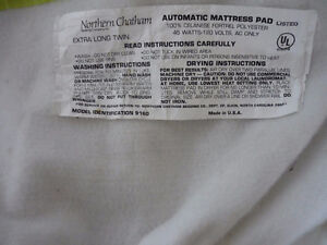 Electric Mattress Pad (Great for Sore Muscles ,Aches ,or Heat