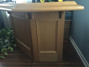Solid wood bar London Ontario image 1