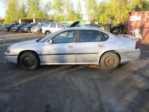 2002  Chevrolet  Impala ** FOR PARTS ** INSIDE & OUTSIDE **