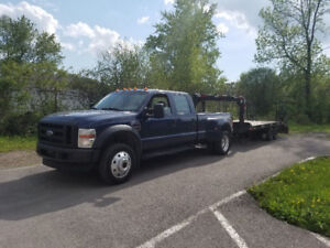 towing ford f450 wheellift