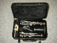 Clarinet With Case & Accessories