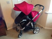 iCandy Apple 2 Pear tandem pushchair aniseed