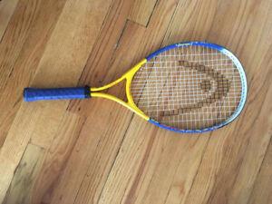 Raquette de tennis junior