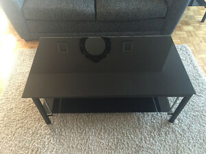 Structube Style Coffee Table and Side Tables