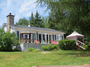 Lakefront Cottage, Blue Sea, summer 2020 bookings