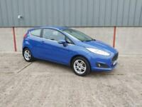 2013 Ford Fiesta 1.25 82 Zetec 3dr HATCHBACK Petrol Manual