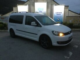 2012 vw caddy maxi 7seater