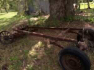 Antique 1920's Car frame and parts Chevrolet 490