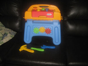 Little Tikes toddler work bench