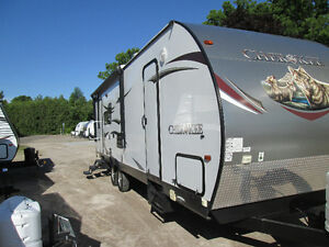 2013 Cherokee 164U travel trailer by Forest River