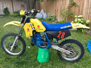 1987 Suzuki RM250 for sale with ownership