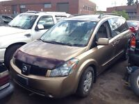 Nissan Quest 2004 Leather