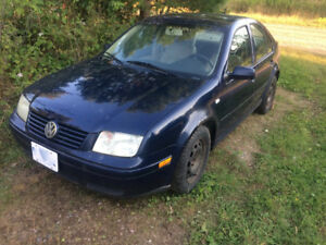 2003 jetta for parts or restore
