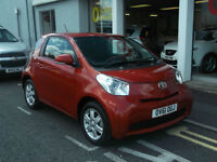 12/61 TOYOTA IQ 1.0 VVTI, UPTO 5 YEARS 0% FINANCE AVAILABLE.