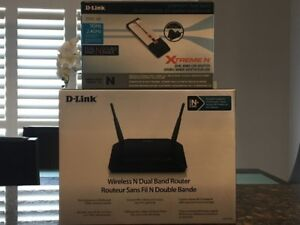 D-Link Wireless N Dual Band Router & Adapter