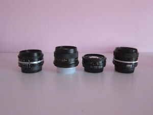 Nikon F Mount Manual Focus Prime/Zoom Lenses