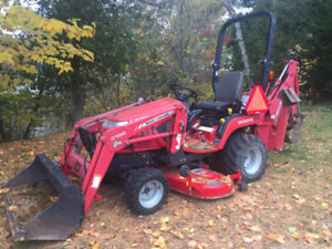 Massey Ferguson Tractor with Backhoe and Mower $15k obo
