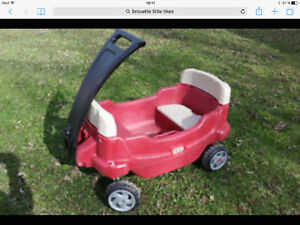 "Brouette chariot ""Little Tikes"""