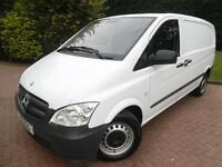 2012 Mercedes-Benz Vito 113 2.1CDI Compact PANEL VAN WITH AIR/CON