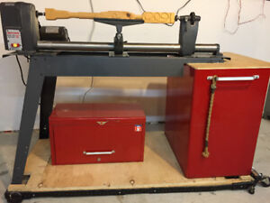 """Calling all Woodworkers! Craftsman 12"""" Wood Lathe for sale!"""
