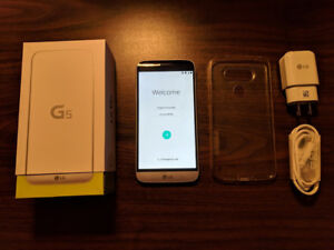 Unlocked LG G5 android smartphone in excellent condition