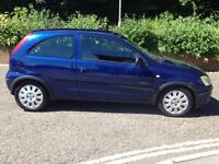 V low mileage chain driven Vauxhall corsa 973cc- full service history -1 f owner from new