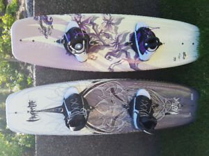 Men's and ladies  wakeboards