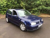 2002 VW Golf 1.9 Gt Tdi 130 ** Full Service History ** 1 Owner **