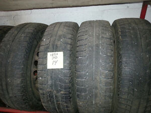 185/70r14 michelin x-ice tires winter snow