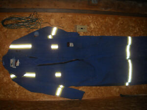 PERFECT CONDITION Deluxe Coverall With Reflective Tape