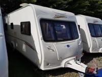 2007 Bailey Senator Oklahoma 4 Berth Fixed Bed Caravan, Motor Mover