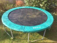 12' trampoline . Very sturdy