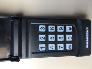 Garage Door Wireless Keypad