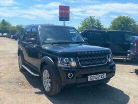 2015 Land Rover Discovery SDV6 COMMERCIAL XS Auto Panel Van Diesel Automatic