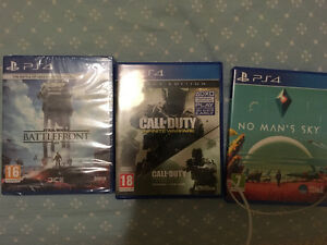 Selling 3 PS4 Games including COD Infinite Warfare